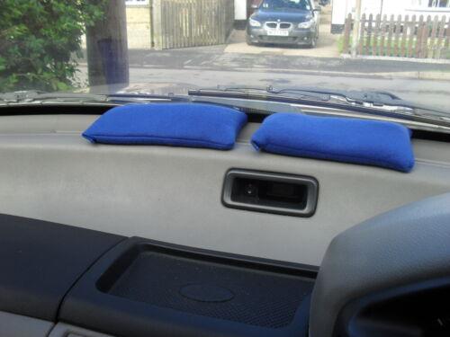 VEHICLE//CAR//HOME REUSABLE DEHUMIDIFIER MOISTURE ABSORBER  2x MEDIUM ROYAL BLUE
