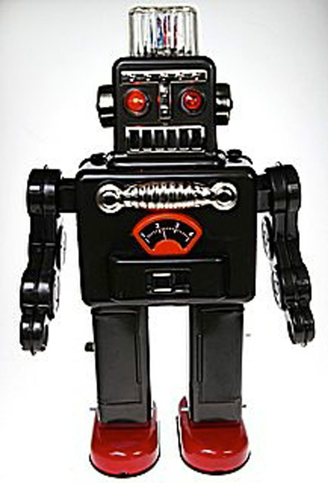 ROBOT che Fuma 60' Retrò Robot Giocattolo di latta da collezione vari colori BANDA STAGNATA
