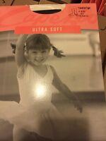 Capezio Transition Ballet Dance Tights 1816x 1816 Black Child Size 2-6 (blk)