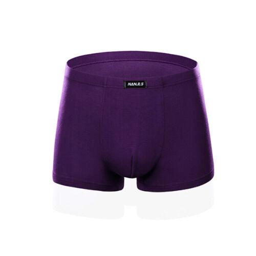 Boxer Men/'s Underwear Cotton Underpants Male Panties Underwear Boxer Short TD