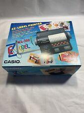 Casio Kl300 Ez Label Printer Battery Operated Japan New Kl 300 Casio M2