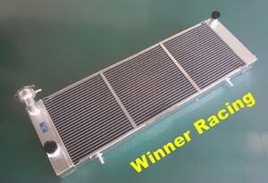 Details about aluminum alloy radiator Jeep Cherokee XJ 4 0 242 CID L6 MT  1991-2001 UP TO 700HP