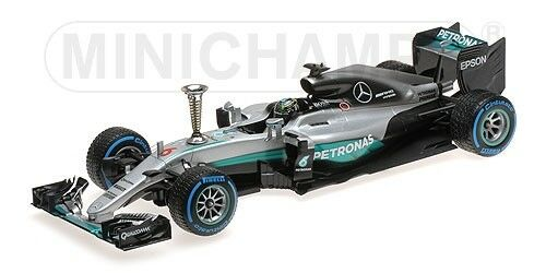 Mercedes Amg W07 Hybrid Nico Rosberg Demontration Run World World World Champion 2016 1 18 34fe94