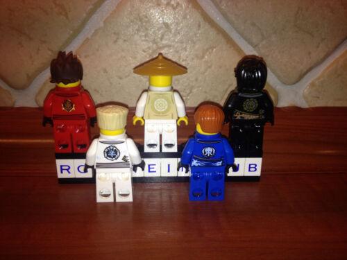 5x LEGO ® Ninjago ™ personnages personnage ninja wu Lloyd Kai Jay Cole zane rebooted ™ NEUF