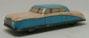 Vintage-temprano-1950s-Glam-Juguete-Hojalata-Coche-GTP-574