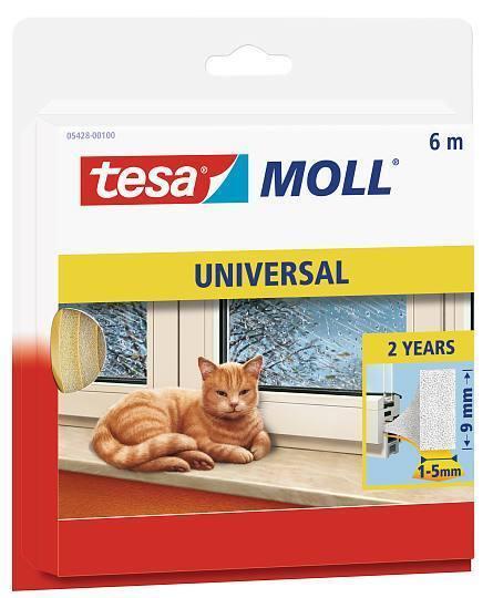 Tesamoll® UNIVERSAL 05428 Schaumstoffdichtung Fensterisolierung Türisolierung