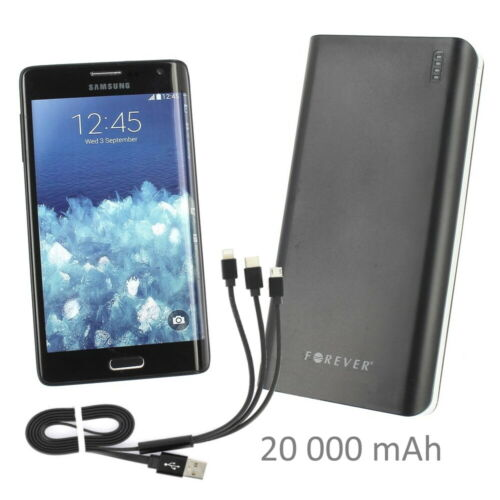 Pour Samsung XCOVER 4 : Batterie Externe 20A 2xUSB   Câble Universel