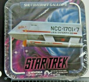 Vintage-1997-Star-Trek-Coaster-seal-Rare-12-pack