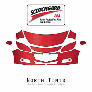 3M Scotchgard Paint Protection Film Clear Pre-Cut 2017 2018 GMC Acadia Denali