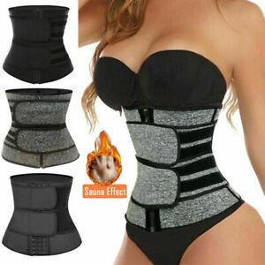 Hot Waist Trainer Cincher Trimmer Sweat Belt Slim Body Shaper Sauna Shapewear US