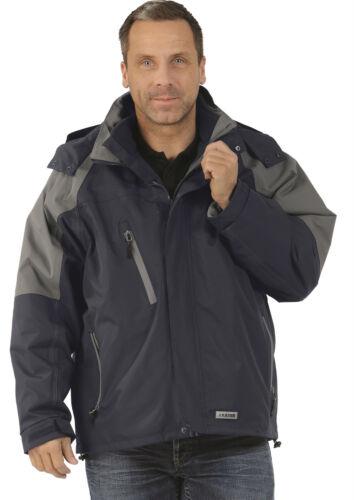 SALE Planam Clay Jacket Casual Jacket 3 in 1 Navy Grey Winter Jacket