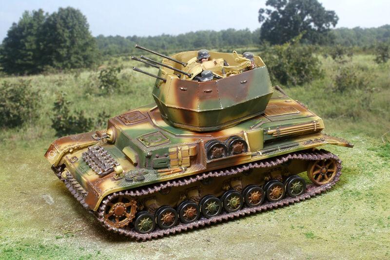 THE COLLECTORS SHOWCASE WW2 GERMAN NORMANDY CS00829 PZ. KFPW IV WIRBELWIND MIB