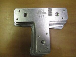 "14-Gauge Steel Simpson Strong-Tie 66T Galvanized T-Strap Tie 6/"" x 6/"""