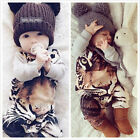 Newborn Toddler Infant Baby Boy Girl Romper Jumpsuit Bodysuit Clothes Outfits N2