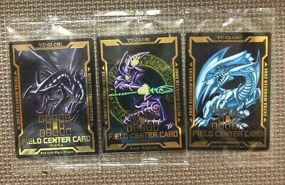 Japanese Yu-Gi-Oh Field Center Card 3 Cards Set LGB1 Gold Box Factory Sealed