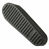 1pc Black Set 6 Positions Recoil Butt Pad Rubber Snap-on Non-slip For Hunting