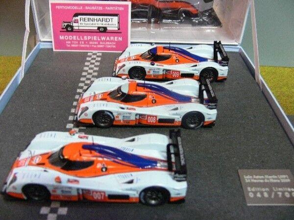 1 43 norev lola aston martin lmp1 24h du Mans 2009 Gulf 007-008-009 270512