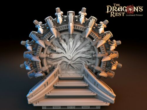 Sci fi Warp Gate Dice Tower XLarge size 3D printed scatter terrain-Dragon/'s Rest
