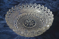 Vintage SOWERBY Hobnail Glass - Nut or Sweet Dish    #500