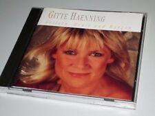 GITTE HAENNING GESTERN HEUTE & MORGEN CD DEUTSCH SCHLAGER MIT LAMPENFIEBER  (YZ)