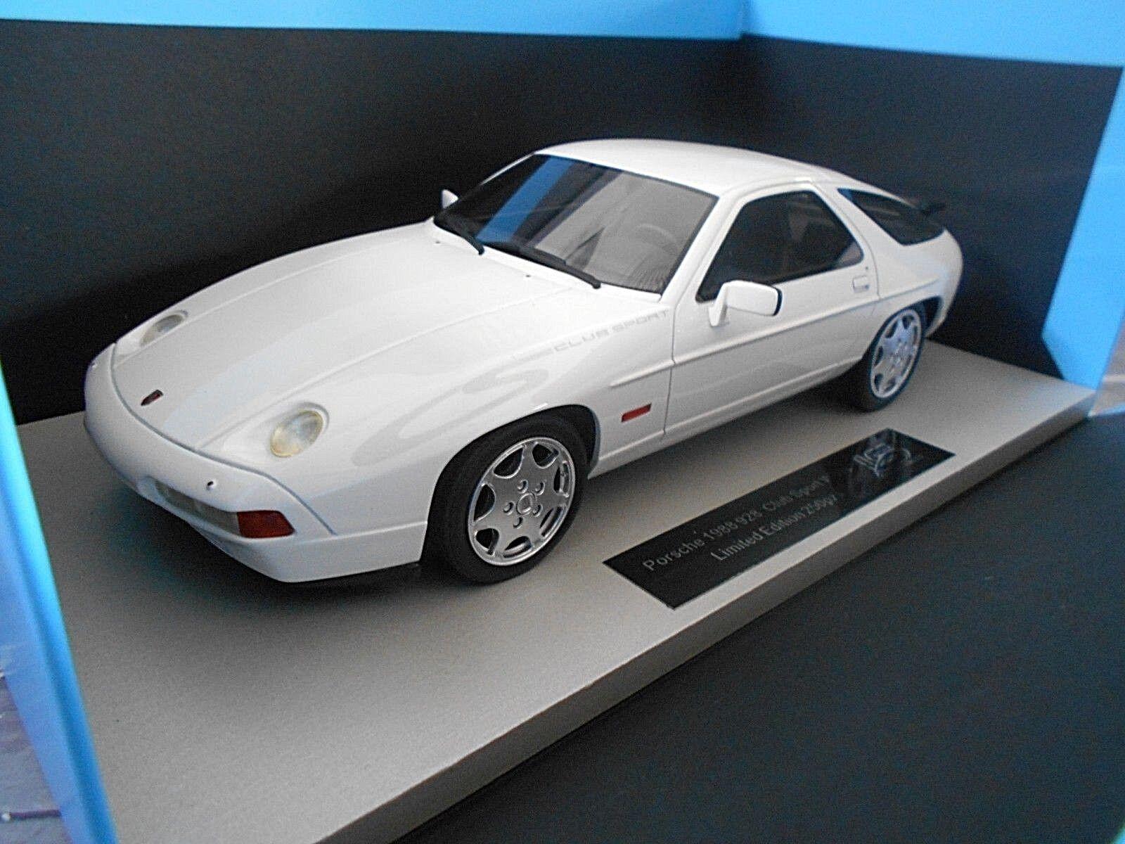 PORSCHE 928S 928 S4 CS Club Sport Sport Sport white w LS Collectibles Resin Highend SP 1 18 98f3ec