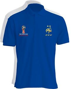 FRANCE-CHAMPION-DU-MONDE-FOOTBALL-RUSSIE-2018-POLO-T-SHIRT-CELEBRATION