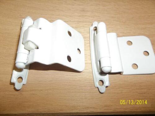 WHITE BRAINERD OFFSET HINGES 1600 H0104AV-W-O PAIR