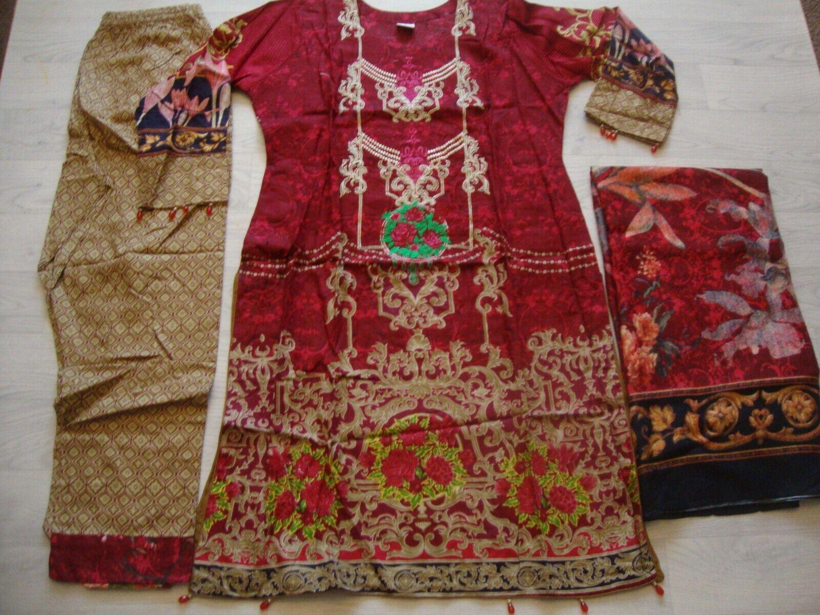 Jazmin Khaddar Embroidered pakistani Ready Made 2020 Clearance Sale now