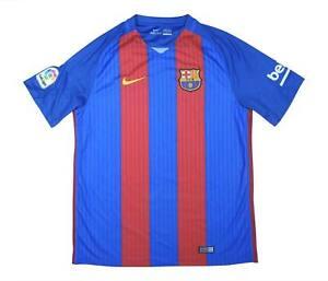 Barcelona 2016-17 Autentico Maglietta (eccellente) L soccer jersey
