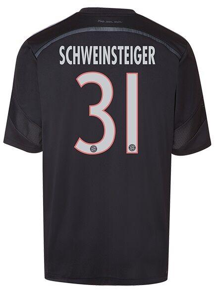 Trikot FC Bayern 2014-2015 Champions Champions 2014-2015 League WC - Schweinsteiger  3rd 901e16