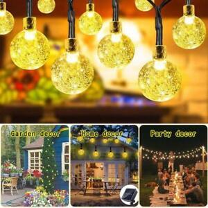 Solar-Powered-50-LED-String-Light-Garden-Path-Yard-Decor-Lamp-Outdoor-Waterproof