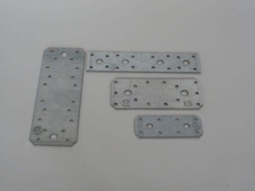 Flachverbinder Holzverbinder Nagelplatten in Stahl verzinkt CE 0769 DIN 1052