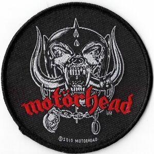 Official-Merch-Woven-Sew-on-PATCH-Heavy-Metal-Rock-MOTORHEAD-War-Pigs