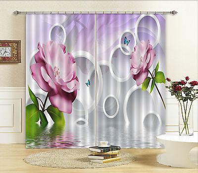 3d Schöne Blumen 71 Blockade Foto Vorhang Druckvorhang Vorhänge Stoff Fenster De Seien Sie Freundlich Im Gebrauch