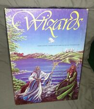 Wizards board game by Avalon Hill AH Role Playing Vintage 1982