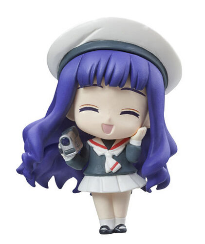 Card Captor Sakura Tomoyo Smiling Petit Chara Land Trading Figure NEW