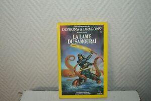 LIVRE-LDVELH-DONJONS-amp-DRAGONS-LA-LAME-DU-SAMOURAI-9-SOLAR-1985-JDR-LE-HEROS