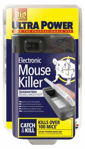 ULTRA POWER Electronic ELETTRICO Trappola Per Topi Roditori Killer Trappola Topi Insetti Elettrico