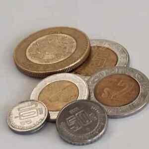 Mexico 2016 Pesos Coins Aztec Calendar  Mexican Pesos