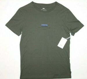 Globe-Shirt-Size-Men-039-s-Small-BNWT-Split-Tee-Fatigue-Green