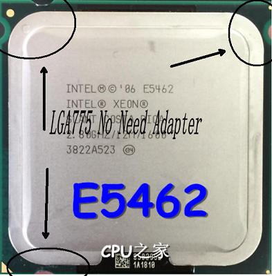 Intel Xeon E5462 2.8GHz Quad-Core CPU Processor (LGA775 No Need Adapter)