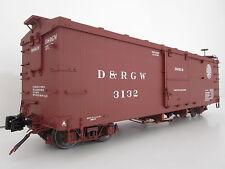AMS Güterwaggon Box Car D+RWG 3132 Spur G für Accucraft LGB Kiss Bachmann