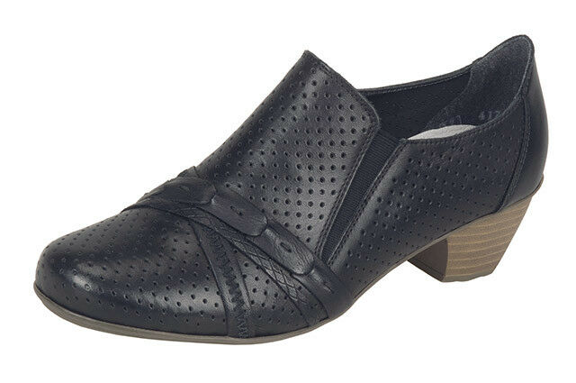 Mujer Casual/Formal Rieker resbalón en el zapato de tacón alto Rieker Casual/Formal EU 9bfb0d