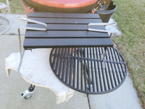 Medium Big Green Egg AND Ott Grill Lifter Tool Plate Setter Lifter For Large