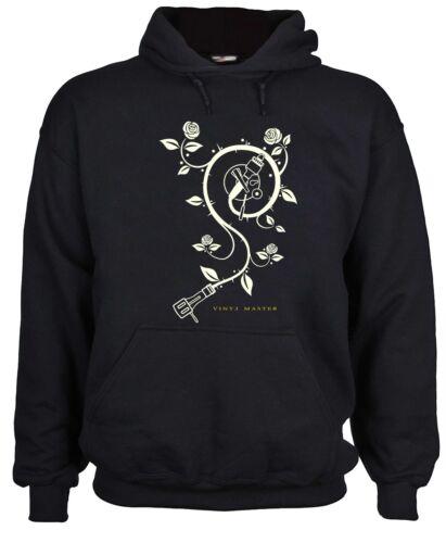 DJ t-shirt hoodie Plattenspieler Turntable kapuzen art music Vinyl Master