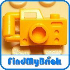 U012B Lego  Minifigure Tool / Utensil Camera - Bright Light Orange 5960 NEW