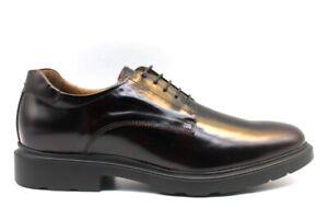 Nero-Giardini-A901141U-Bordeaux-Stringate-Scarpe-Uomo-Eleganti