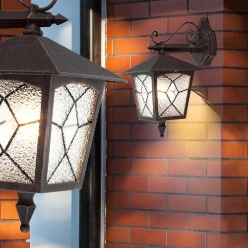 LED 5 Watt House Wall Lamp Lantern Porch Lighting E27 Outdoor Patio Light EEK A+