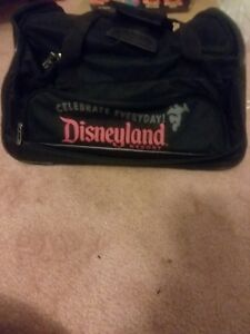 29990ea2a58f Image is loading Disneyland-Resort-Rolling-Luggage-Duffle-Bag-w-Extension-