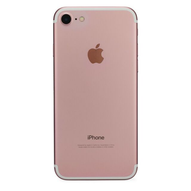 finest selection 6c2ec 1fd80 Apple iPhone 7 - 128GB - Rose Gold (Sprint) A1660 (CDMA + GSM)